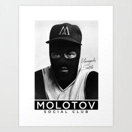 Molotov Social Club Art Print