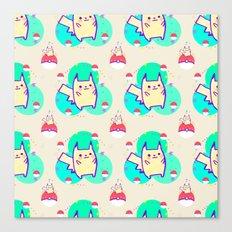 PikachuPattern Canvas Print