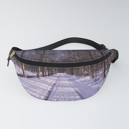 Winter Path Fanny Pack