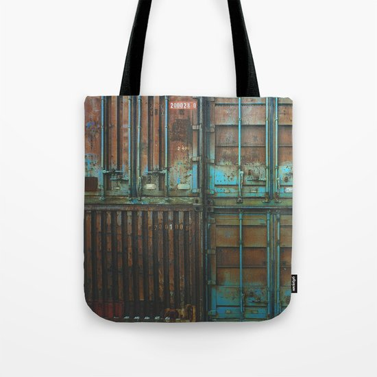 Container rouille 5 Tote Bag