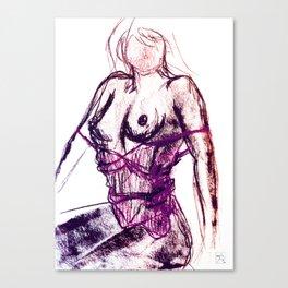 Sexy Ladies 04 Canvas Print