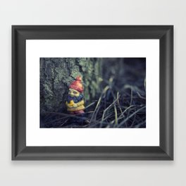 This Tree... Makes me happy... Framed Art Print