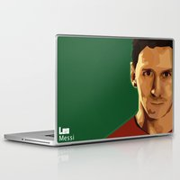 messi Laptop & iPad Skins featuring Leo Messi by fatimakhaled95