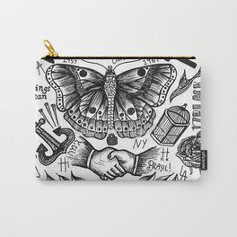 Harry Styles Tattoos Carry-All Pouch