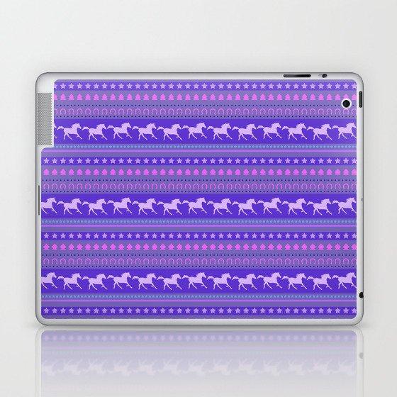 Horse Pattern Laptop & iPad Skin