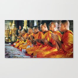 Monastery - Bangkok - Thailand Canvas Print