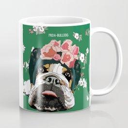 Frida-Bulldog Coffee Mug