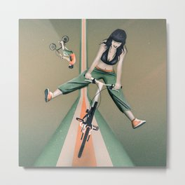 Happy Joyride Metal Print