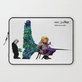 Build me a wall, Mexican man. Laptop Sleeve