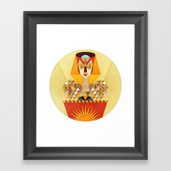 INitiation Framed Art Print