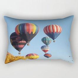 Balloons Arising Rectangular Pillow