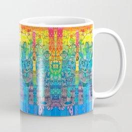 Pottery Motifs - rainbow Coffee Mug