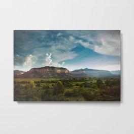 Laguna Mesa, Chama River Canyon Metal Print