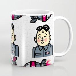 Kim Jong Un Rockets Coffee Mug