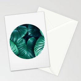 Plant collage XII Stationery Cards