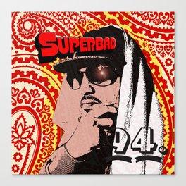 Psycho Les Superbad Canvas Print