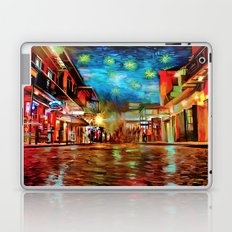 French Quarter Under the Stars Laptop & iPad Skin