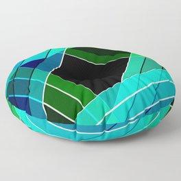 Abstract pattern 8 Floor Pillow
