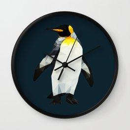 Polygon Penguin Wall Clock