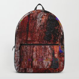 Glitch Wood Backpack