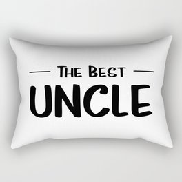 The Best Uncle Rectangular Pillow