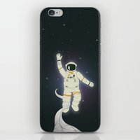 outer space iPhone & iPod Skins featuring Outer Space by Tuylek