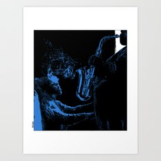 asc 441 - La muse (Playing just for you) Art Print