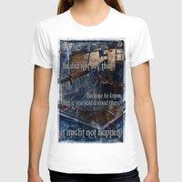 hemingway T-shirts featuring Ernest Hemingway by Ginevra