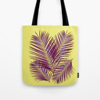 palms Tote Bags featuring Palms by  Agostino Lo Coco