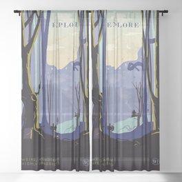 Magic Movies Sheer Curtain