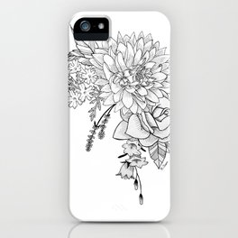 Dahlia, You're my Sweetheart iPhone Case