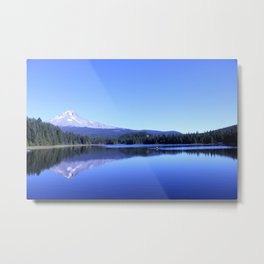 Mt Hood from Trillium Lake #2 Metal Print