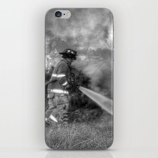 Firefighter iPhone & iPod Skin
