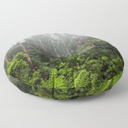 Forest and Fog Floor Pillow