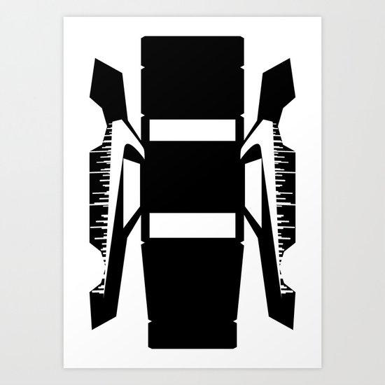Grantorino75 Mask Art Print