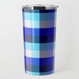 Modern gingham Travel Mug