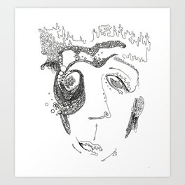 About Face I Art Print