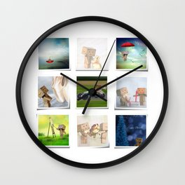 A life with Danbo Wall Clock