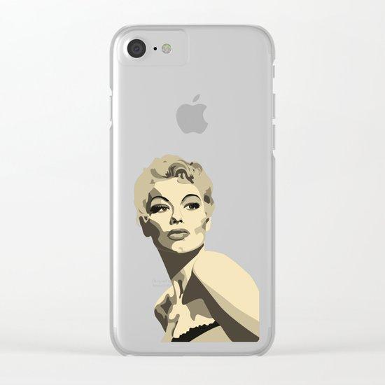 Lili St Cyr Clear iPhone Case