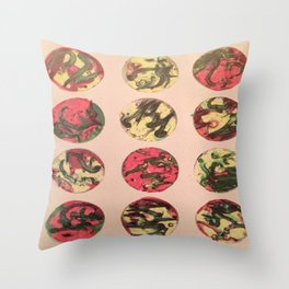 itchy series: no. 1 Throw Pillow