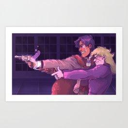 Speedie Art Print