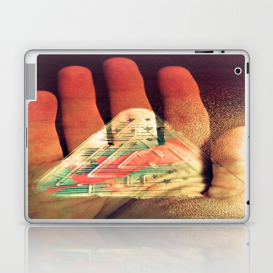 What You Do Is Imprinted On You Laptop & iPad Skin