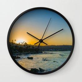Laguna Sunrise Wall Clock