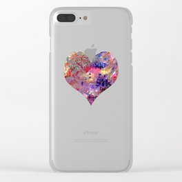 FROM FIRE TO DESIRE Clear iPhone Case