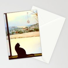 Tosca's Winter Window Stationery Cards