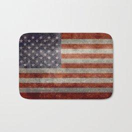 USA Flag Banner - Imagine this Bath Mat