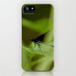 Ebony Jewelwing iPhone Case