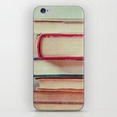 Books Love iPhone Skin