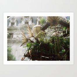 l'expédition végétale Art Print