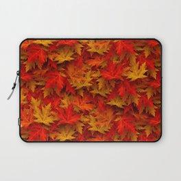 Deep Autumn Leaves Laptop Sleeve